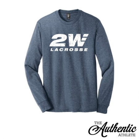 6ce47dcc3ad66 2WAY Lacrosse Triblend Long Sleeve Tee - The Authentic Athlete